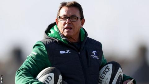 Keane arrived in Connacht after working as an assistant coach with the Chiefs