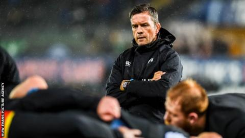 Allen Clarke took over as Ospreys head coach in April 2018 on a three-year deal