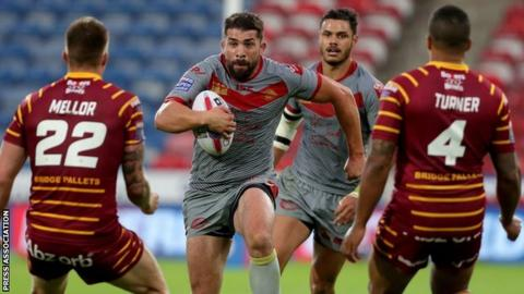 Mickael Simon returned to Catalans Dragons from Wakefield in 2016