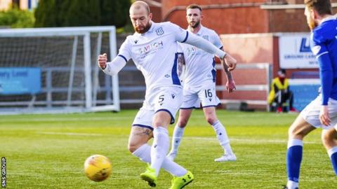 Forster's strike moved Dundee back into the play-off positions
