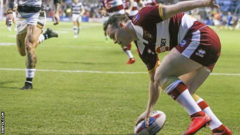Liam Marshall has scored nine tries in seven appearances for Wigan Warriors this season