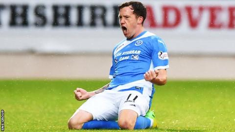 Danny Swanson has been a key player for St Johnstone this season
