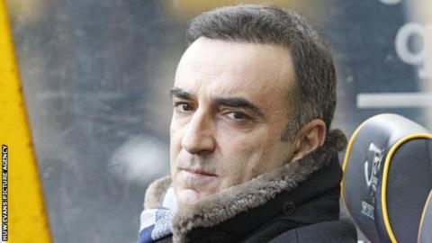 Carlos Carvalhal became Swansea's fifth manager in two years when he took charge at the Liberty Stadium in December