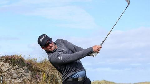 Van Rooyen takes four-shot lead after three rounds at Irish Open
