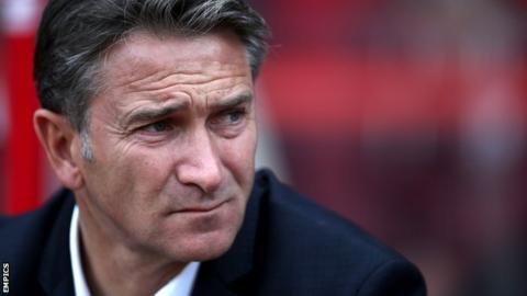 Nottingham Forest boss Philippe Montanier