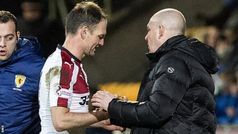 Clint Hill and Mark Warburton