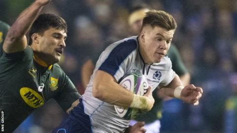 Finn Russell With 10 tries from 22 caps, could Scotland really leave Huw Jones out?