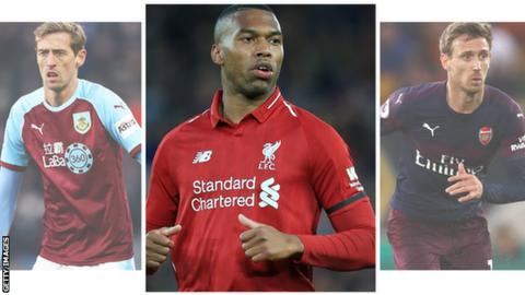 58ad575eb Premier League players out of contract this summer - BBC Sport