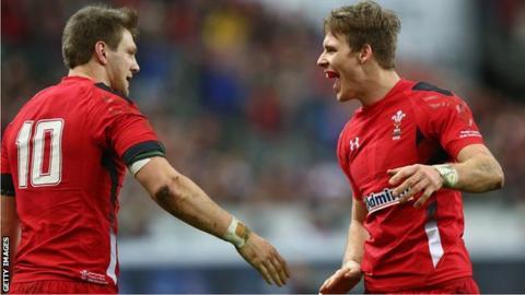 Dan Biggar and Liam Williams