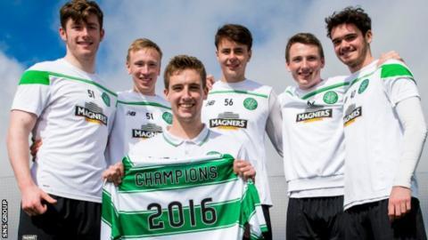 Celtic are the current Development League champions