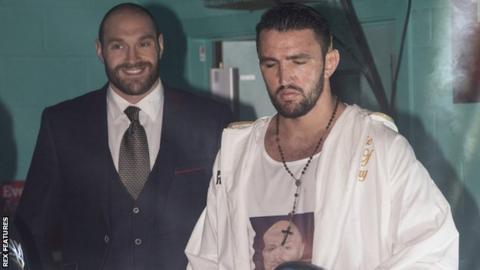 Tyson and Hughie Fury
