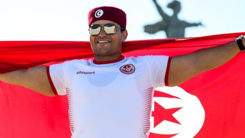 Tunisia fan