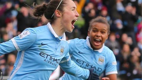 Jane Ross celebrates goal
