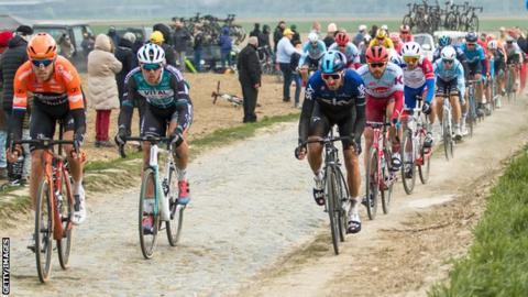 Paris-Roubaix race