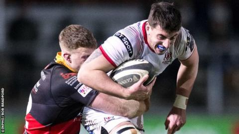 Matthew Dalton has made seven Ulster appearances this season