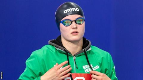 Mona McSharry has won four gold medals at the Irish Short Course swimming championships
