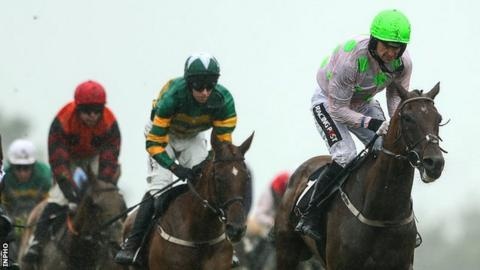 Patrick Mullins and Sharjah (right)