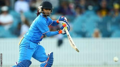 Poonam Rout hit 109 for India before retiring hurt