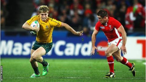 James O'Connor set to make return for Australia - BBC Sport