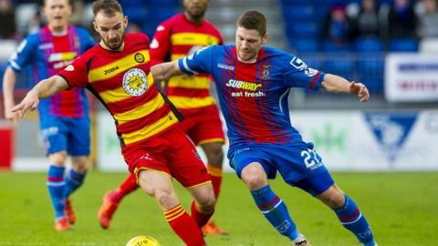Inverness CT and Partick Thistle