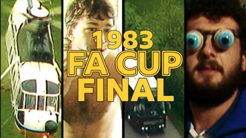 1983 FA Cup Final - Brighton v Manchester United