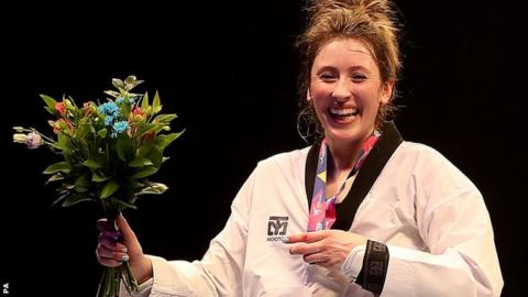 World Taekwondo Championships: Jade Jones wins first world title
