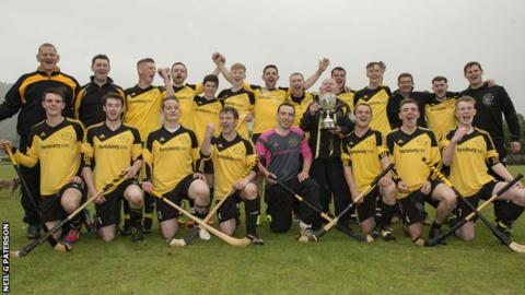 The victorious Fort William team