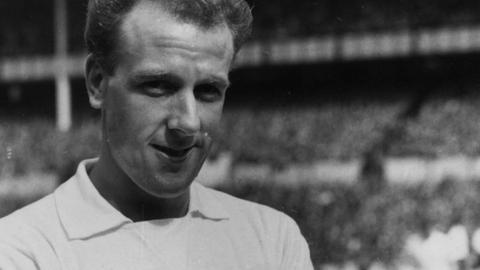 Jim Iley as a Tottenham player in 1957