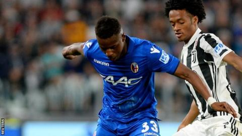 Cheick Keita made his first Serie A start for Bologna against Juventus in May