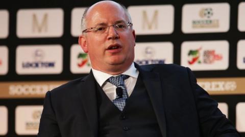 EFL chief executive Shaun Harvey