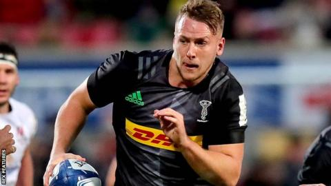 Alex Dombrandt: Could England pick Harlequins number eight for Six Nations?