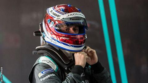 Adam Carroll moved up to 14th place in the Moroccan ePrix