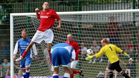 Jersey score against Alderney