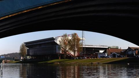 General views of The City Ground home of Nottingham Forest