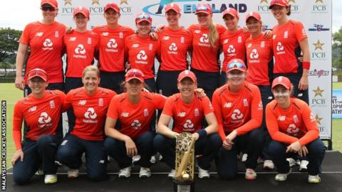 England women's cricket team
