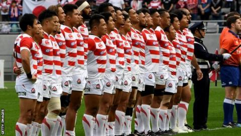 9172d9764fe England v Japan: Touring players 'paid £13 per day' - BBC Sport