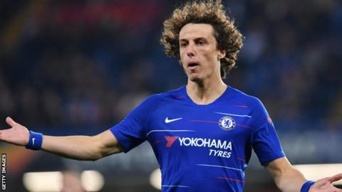 Luiz is out of contract at the end of June