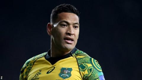 Tongo offer Folau route back to global  rugby