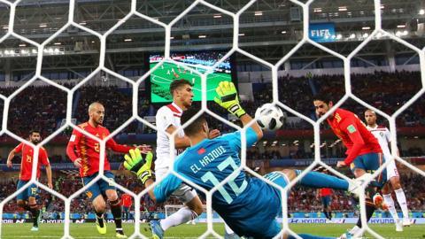 Spain goal