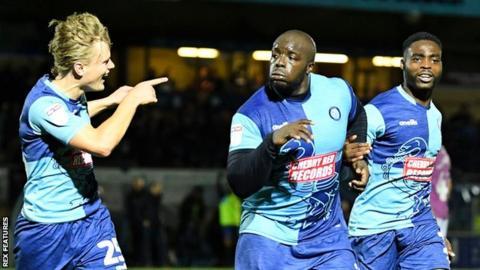 Wycombe are Akinfenwa's 11th EFL club