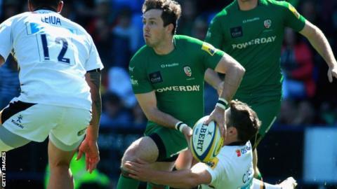 Darren Allinson in possession for London Irish