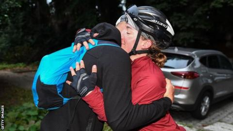 German cyclist Fiona Kolbinger first woman to win 4000km Transcontinental Race