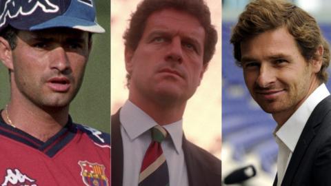 Jose Mourinho, Fabio Capello and Andre Villas Boas