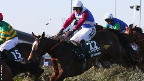 Derek Fox riding One For Arthur
