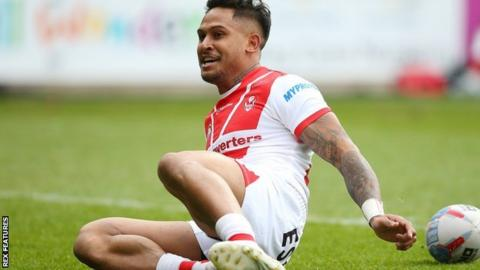 Ben Barba's first-half try