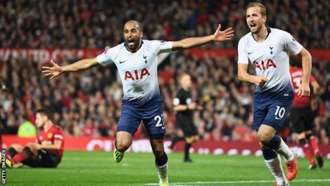 Image result for Tottenham – Manchester United