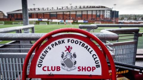 Queen's Park will play their games at Lesser Hampden after the sale of the national stadium