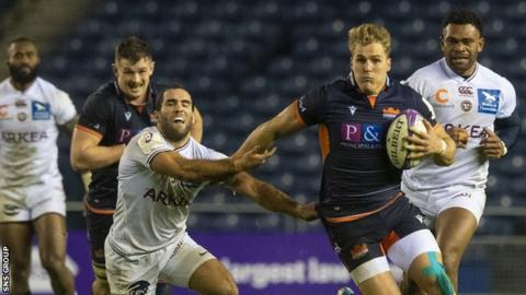 Edinburgh will play Bordeaux for a third time this season in the Challenge Cup quarter-finals