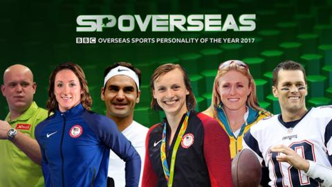 BBC Overseas Sports Personality contenders