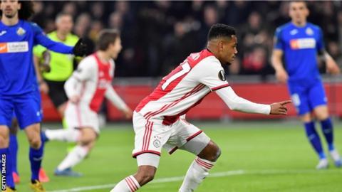 Danilo scores for Ajax